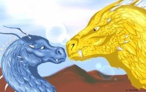 Glaedr and Saphira