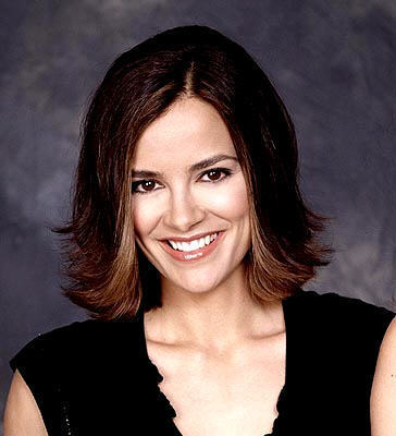 All My Children wallpaper with a portrait entitled Greenlee Smythe played by Rebecca Budig