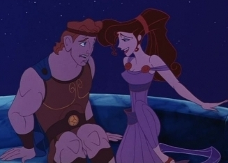 Disney Couples wallpaper with anime titled Hercules and Meg