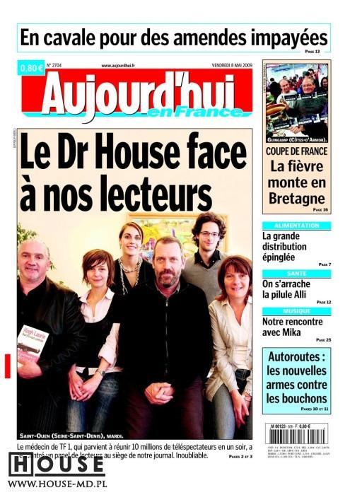 Hugh Laurie in Paris