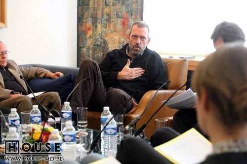 Hugh Laurie in Paris