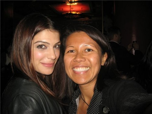 Genevieve Cortese at friday the 13th premiere