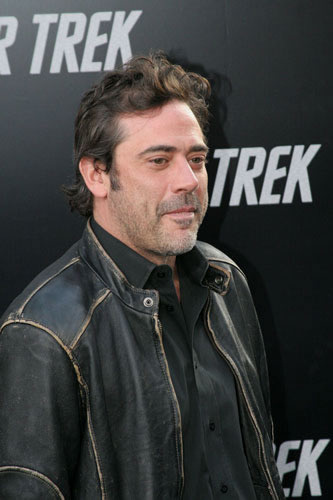 Jeffrey Dean Morgan wallpaper entitled Jeffrey @ Star Trek LA Premiere