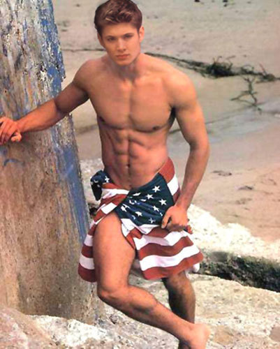 Jensen - Patriotic American!