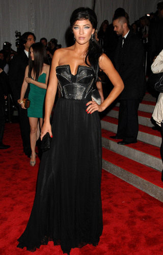 Jessica Szohr images Jess @ Met Costume Gala HD wallpaper and background photos