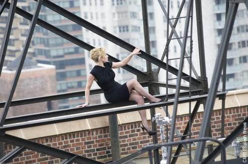 Kate Winslet poses for Harper's Bazaar