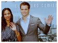 Kirk and Uhura - Chris Pine and Zoe Saldana - star-trek photo