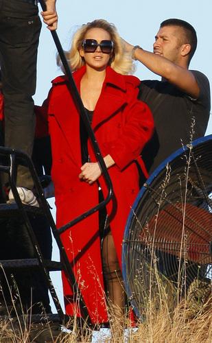 Lindsay @ Spanish Vogue