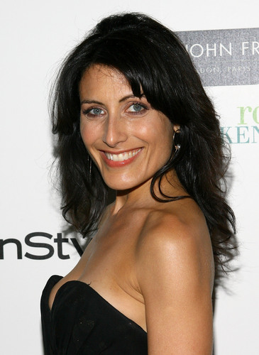 Lisa Edelstein - InStyle Hair Issue Launch Party Hosted سے طرف کی John Frieda Root Awakening in NYC 2009.05
