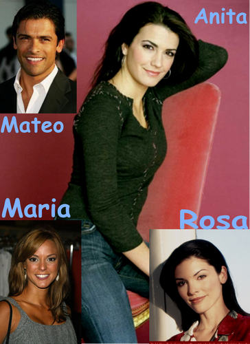 Maria & her brother Mateo & sisters Anita & Rosa