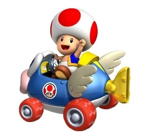Mario Kart Toad