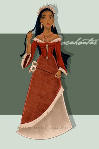 pagbabalatkayo Pocahontas