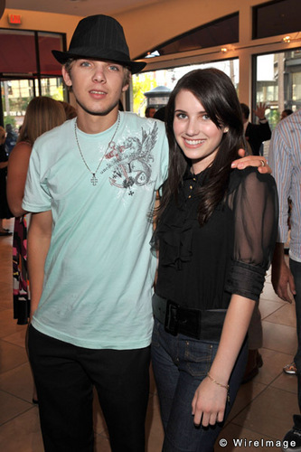 Max thieriot and emma roberts
