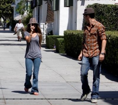 Megan & Brian in LA