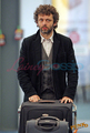 Michael Sheen arriving in Vancouver to shoot New Moon - michael-sheen photo