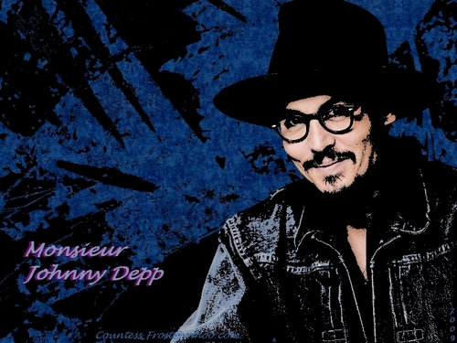 Monsieur Johnny Depp
