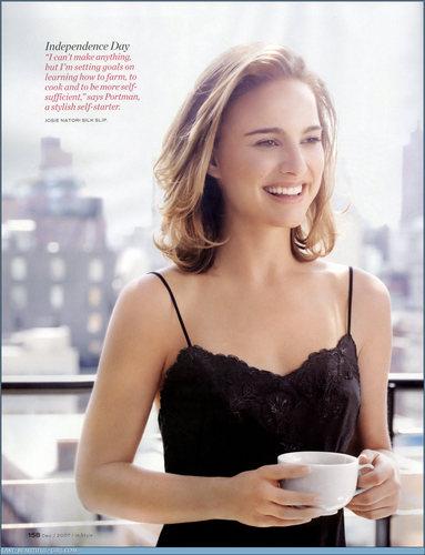 Natalie Portman InStyle magazine