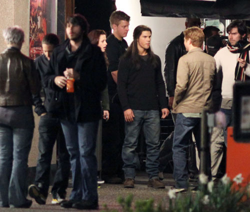 "On the set of ""New Moon"" - May 1"
