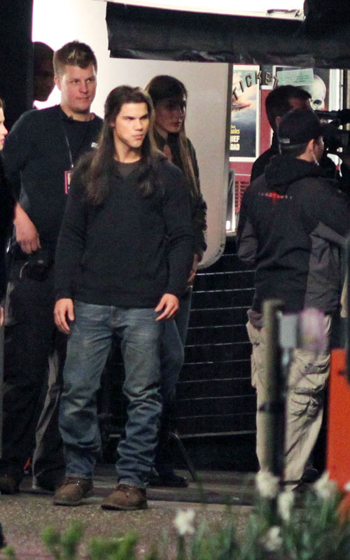 """On the set of """"New Moon"""" - May 1"""