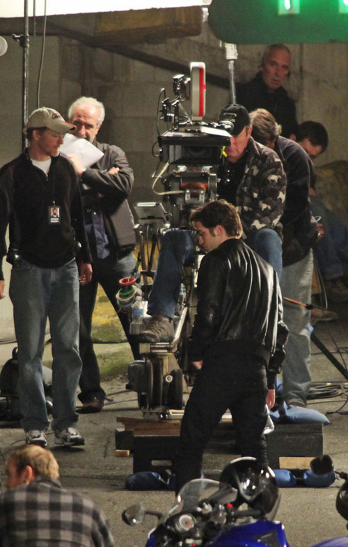 """On the set of """"New Moon"""" - May 2"""