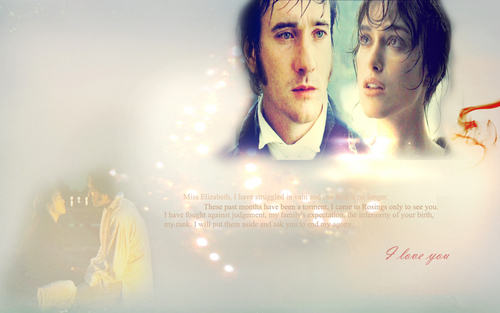 Pride and Prejudice wallpaper titled P&P