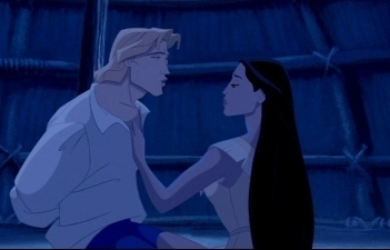 Disney Couples wallpaper entitled Pocahontas and John Smith