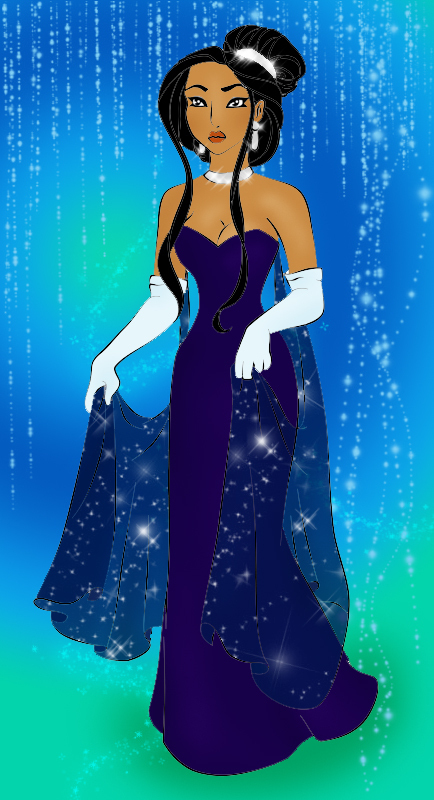 Princess Pocahontas Cartoon Disney
