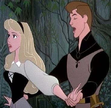 Disney Couples wallpaper with anime titled Princess Aurora and Prince Philip