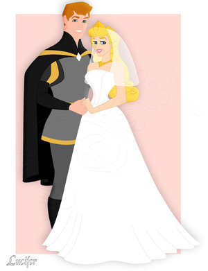Disney Couples wallpaper entitled Princess Aurora and Prince Philip