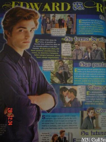 Robert Pattinson (Mexican Magazine Scans)