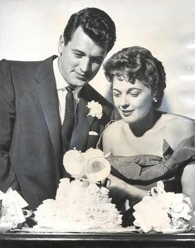 Rock Hudson And Wife
