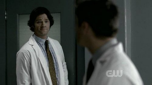 SPN - Jared Padalecki in episode bloodlust