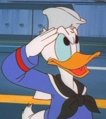 Sailor Donald canard