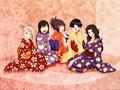 Sakura, Shizune, Anko, Hinata & Kurenai