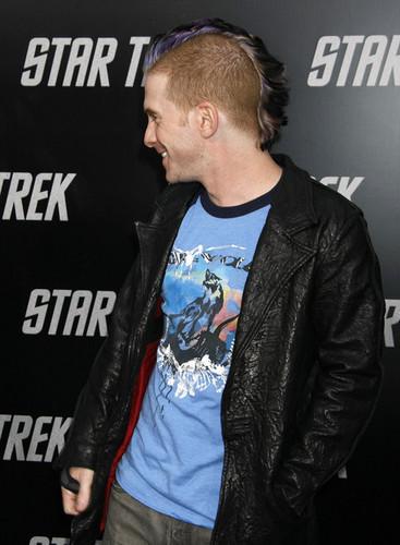 Seth at the estrella Trek premiere