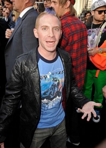 Seth at the bituin Trek premiere