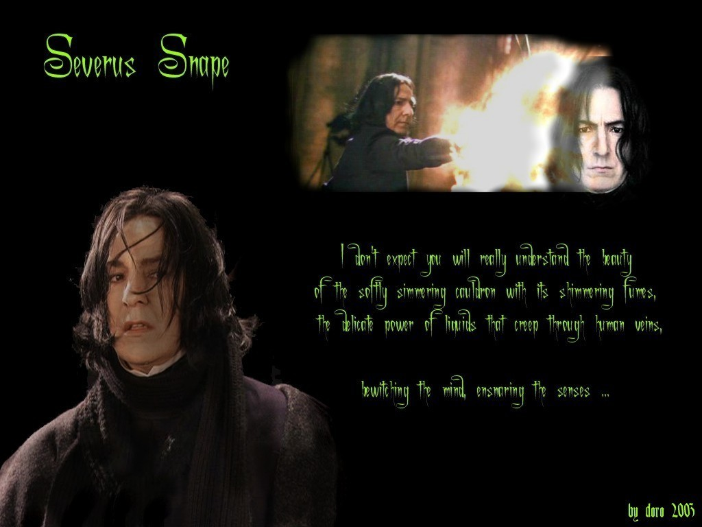 harry potter essays snape Potter's essay reads: professor snape, to all rules there is an exception here is my essay what it's like to have the cruciatus curse put on you by harry potter.