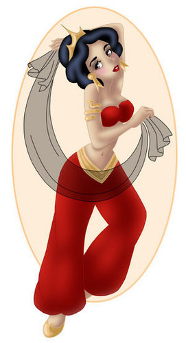 Princess Snow White - disney-princess Fan Art