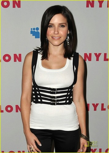 Sophia buisson, bush at Nylon Magazine's Young Hollywood Issue Party at The Roosevelt Hotel (May 4th)