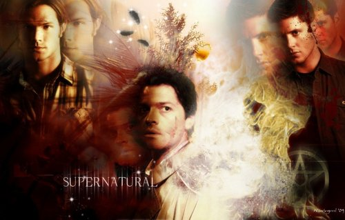Supernatural - supernatural Fan Art