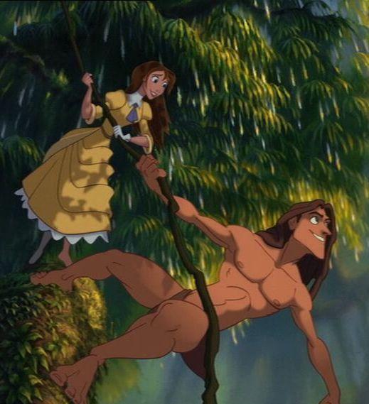 Disney Couples Tarzan And Jane