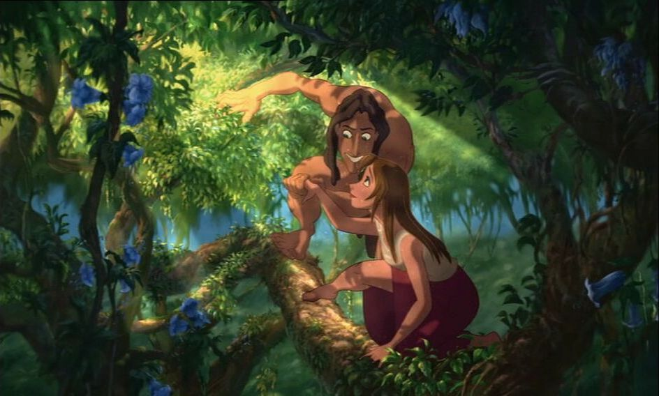 Tarzan and Jane - Disney Couples Photo (6010959) - Fanpop