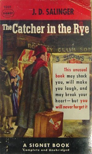 the mentally unstable character of holden caulfield in the catcher in the rye a novel by jd salinger The catcher in the rye by jd salinger his landmark novel, the catcher in the rye a reflection of his own deteriorating mental stability or both 3 holden.
