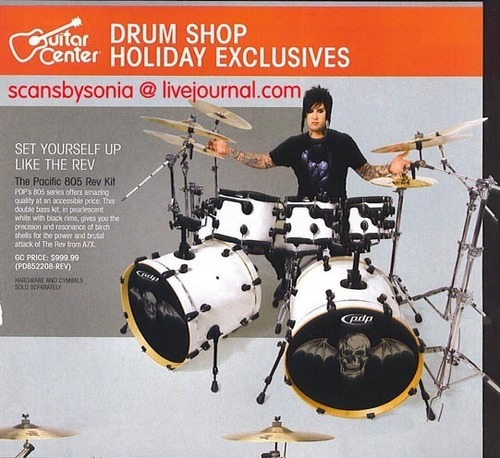 The Rev (Pacific 808 Rev Drum Kit)  - avenged-sevenfold Photo
