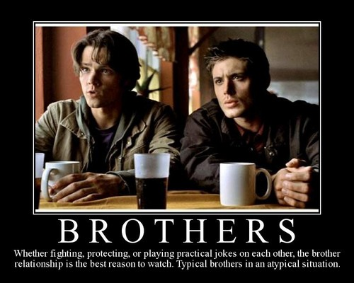 The Winchesters پیپر وال with a coffee break called The Winchesters