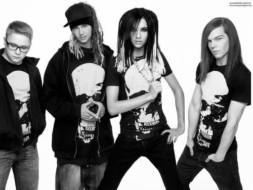 Tokio Hotel H&M Shoot