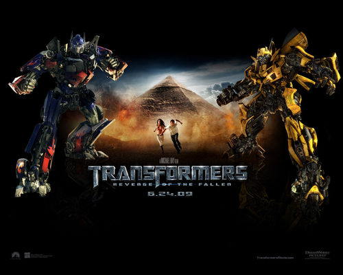 ट्रांसफॉर्मर्स वॉलपेपर probably containing a fire, a sunset, and a आग called Transformers: Revenge of the Fallen