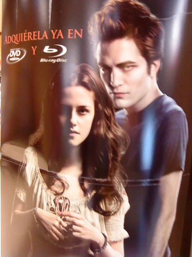 Twilight (dvd in Mexico)