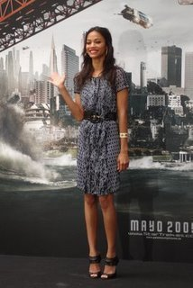 Uhura -Zoe Saldana
