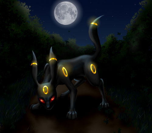 Umbreon kertas dinding